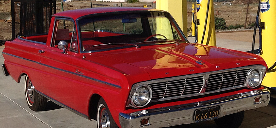 Steve Sansone's  1965 Ranchero Deluxe 66H